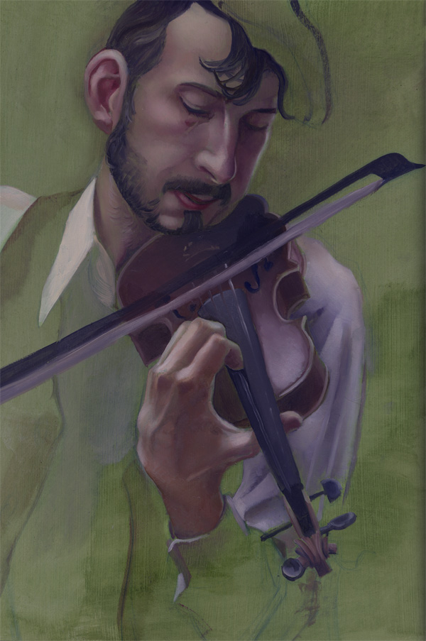 Violin guy Zach Franzen