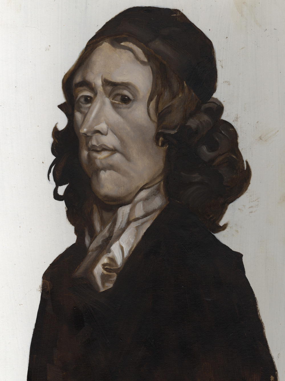 John Owen illustration based on Greenhill's portrait
